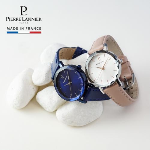 ピエールラニエ マルチプル レディース腕時計 レザーウォッチ