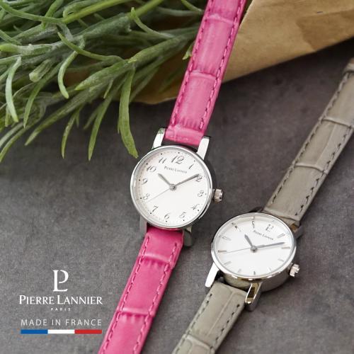ピエールラニエ ミニカリーヌ レディース腕時計 レザーウォッチ